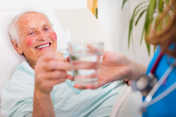 What to Do With Seniors Who Don't Like to Drink Water